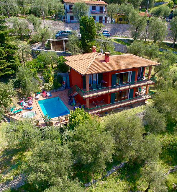 Loncrini Apartments - Villa - Malcesine on Lake Garda